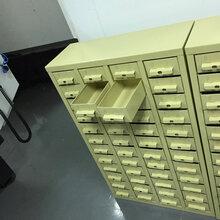 定做铁抽零件柜多抽零件柜,广州零件柜番禺样品柜厂家批发