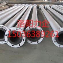 供应碳钢衬胶管道耐磨管道脱硫管价格