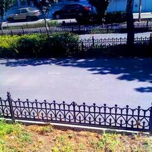 濟寧綠化帶草坪護欄庭院花園隔離柵欄市政草坪護欄廠家批發圖片