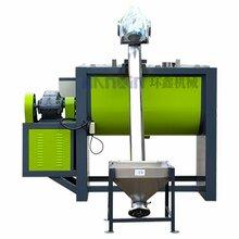 供應雙層螺旋臥式攪拌機干粉塑料攪拌混合廠家圖片
