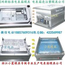 黄岩模具之乡,新国网单相四位电表箱塑料模具台州厂家