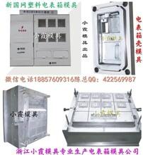 台州模具之都,新国网单相一位电表箱塑料模具中国地址
