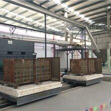 蜂窩SCR模塊加熱再生隧道窯爐圖片