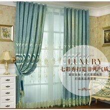 上门设计窗帘安装测量客厅阳台卧室窗帘定制安装图片