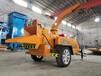 寧夏固原移動式柴油樹枝粉碎機移動方便價格5800元真省心