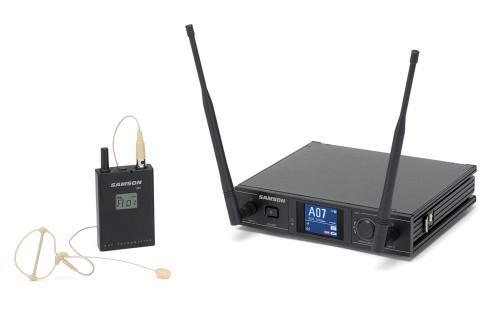 供应美国SAMSONEARSET山逊无线耳挂式麦克
