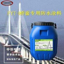 FYT-1桥面防水涂料,三涂桥面FYT-1防水层施工后包验收图片