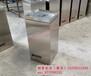 环畅hc1027方形不锈钢果皮箱室内垃圾桶单筒垃圾箱