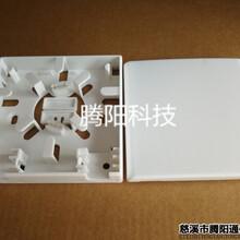 2口光纖桌面盒2口光纖信息面板2口光纖盒圖片