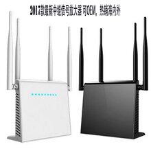 工厂供应4天线无线WIFI中继器网络信号放大增强器可OEM图片