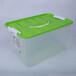 有盖透明家用塑料收纳箱