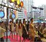 广州周年庆公司节目策划舞台搭建图片