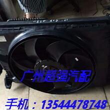 奔驰SLK200电子扇水箱前机盖进气支管散热器涨紧轮图片