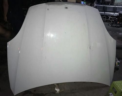 19款保时捷机盖门锁块倒车镜鼓风机散热器