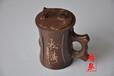 纯天然木鱼石保健杯,正品水杯茶具
