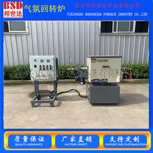 間歇式氣氛回轉爐石英管管式爐氣氛保護燒結爐圖片