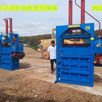 家用廢品站廢紙箱打包機鴻運YD-60工廠特價