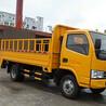 东风多利卡栏板式桶装垃圾运输车