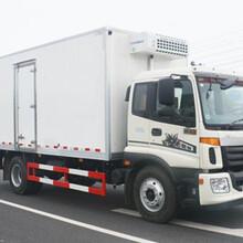 国五福田欧曼单桥10吨BJ1169VKPEK-A2冷藏车图片