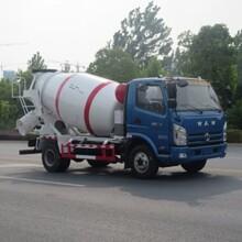 国五飞碟奥驰FD1081W17K5混凝土搅拌运输车图片