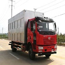 国五解放单桥10吨CA1180P62K1L4E5畜禽运输车图片