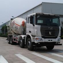 国五集瑞联合前四后八重卡QCC5312GJBD656-E混凝土搅拌运输车图片