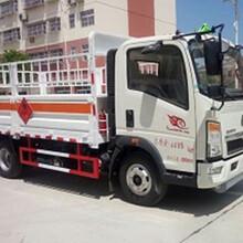 国五重汽豪沃轻卡蓝牌ZZ1047F3315E145气瓶运输车图片