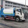 国五福田瑞沃单桥6吨BJ1166VJPEN-1压缩式垃圾车