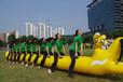 弘扬民族文化趣味运动会器材旱地龙舟,陆地龙舟充气类比赛项目