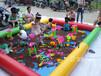 廣西多功能游泳池適合廣場夜市經營決明子充氣沙池生意好