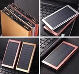 天书太阳能移动电源手机充电宝厂家直销图片