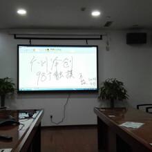 会议室98寸触控一体机替代投影仪省心免维护