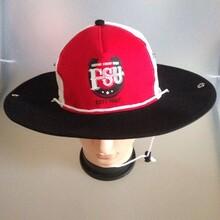 大沿太阳帽西部牛仔帽牛仔布棒球帽洗水帽休闲帽图片