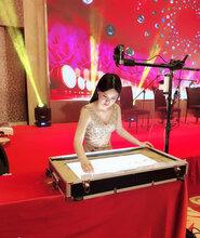 廣州婚禮沙畫視頻定制沙畫成人培訓沙畫藝術家