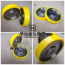 澆注優力膠軸承聚氨酯包膠輪滑輪pu聚氨酯板聚氨酯雜件量大從優圖片