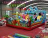广场大型儿童充气城堡儿童充气滑梯全国上市热线儿童蹦蹦床