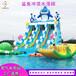 福建漳州室外充气移动水乐园,大型支架游泳池百美厂家专业定制