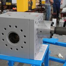海科高温高粘度熔体泵齿轮泵图片