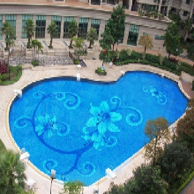 拼图马赛克厂家游泳池池底拼花马赛克瓷砖图片