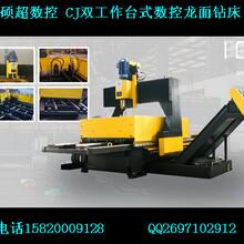 pd16c型双工作台龙门移动式数控平面钻床,全自动多孔钻床,硕超数控