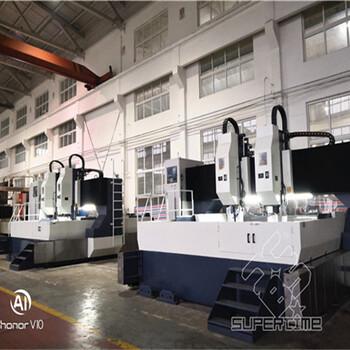 數控龍門鉆床廠家供應龍門平面鉆床GZC3030BT50內冷主軸鉆孔直徑60mm西門子系統