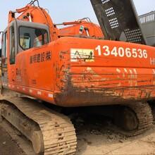 直销二手日立230-6挖掘机来回路费全部报销