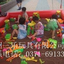 资阳充气玩具儿童乐园广场、小区公园组合彩色沙滩池子捞鱼池子图片