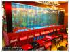 台州鱼缸定做大型水族工程别墅酒店鱼缸水景