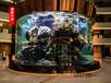 杭州魚缸定制風水魚缸大型魚缸定做價格實惠