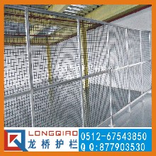 乐清铝合金工业设备安全围栏铝型材+有机玻璃龙桥护栏专业订制图片