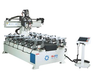 速必胜木工机械厂生产:床板床头数控开槽机