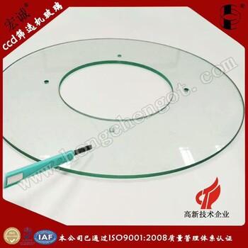 500MM光学玻璃盘筛选机玻璃盘加工厂家