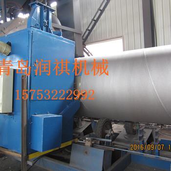廠家供應鋼管拋丸機鋼管除銹機鋼管防腐機