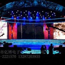 济宁市兖州区P3全彩显示屏室内led租赁屏图片